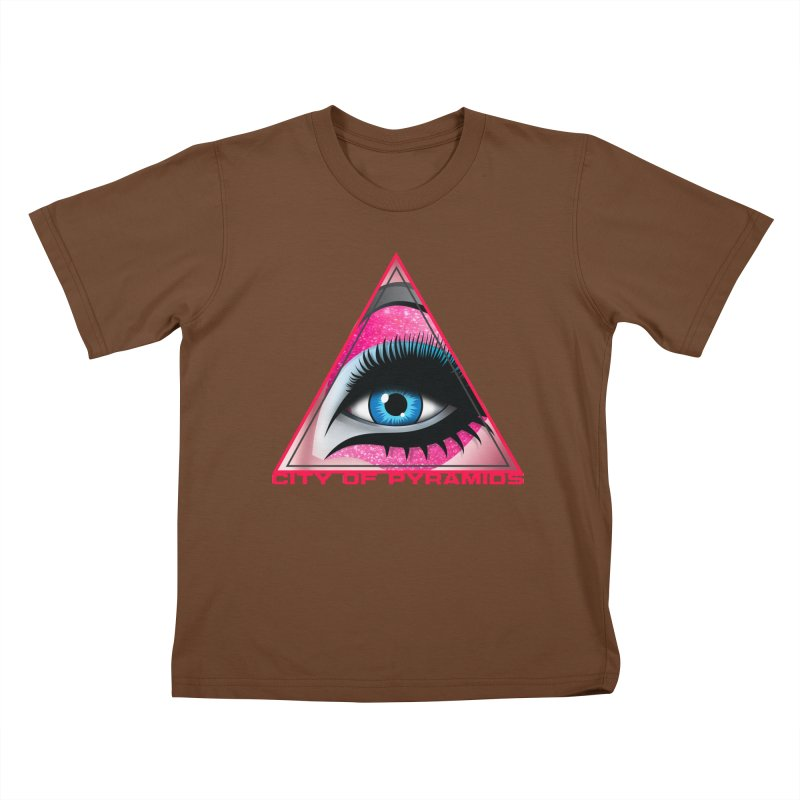 Eyeconic Drag Kids T-Shirt by City of Pyramids's Artist Shop