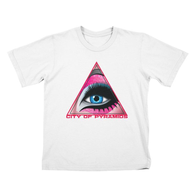 Eyeconic Drag Kids T-Shirt by City of Pyramids's Artist Shop