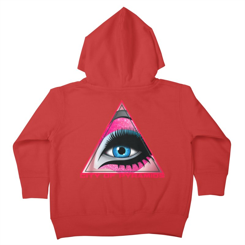 Eyeconic Drag Kids Toddler Zip-Up Hoody by City of Pyramids's Artist Shop