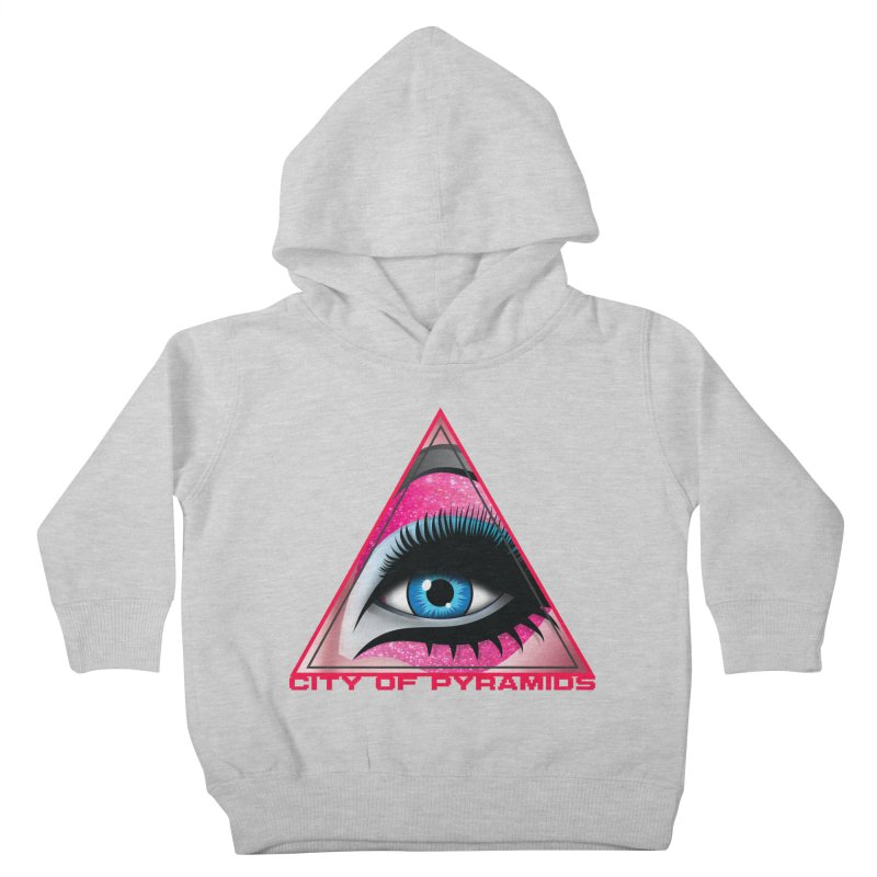 Eyeconic Drag Kids Toddler Pullover Hoody by City of Pyramids's Artist Shop