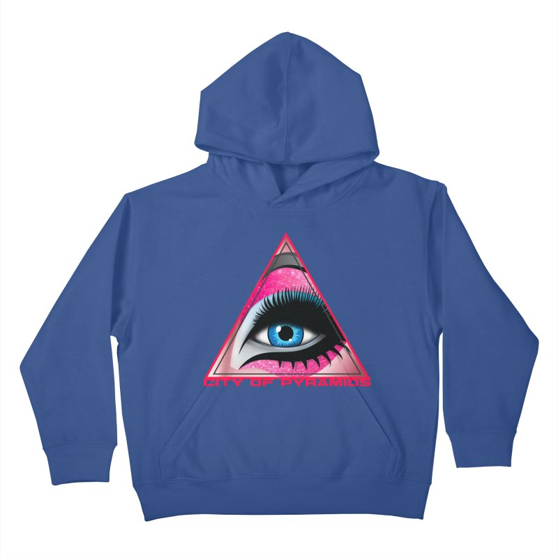 Eyeconic Drag Kids Pullover Hoody by City of Pyramids's Artist Shop