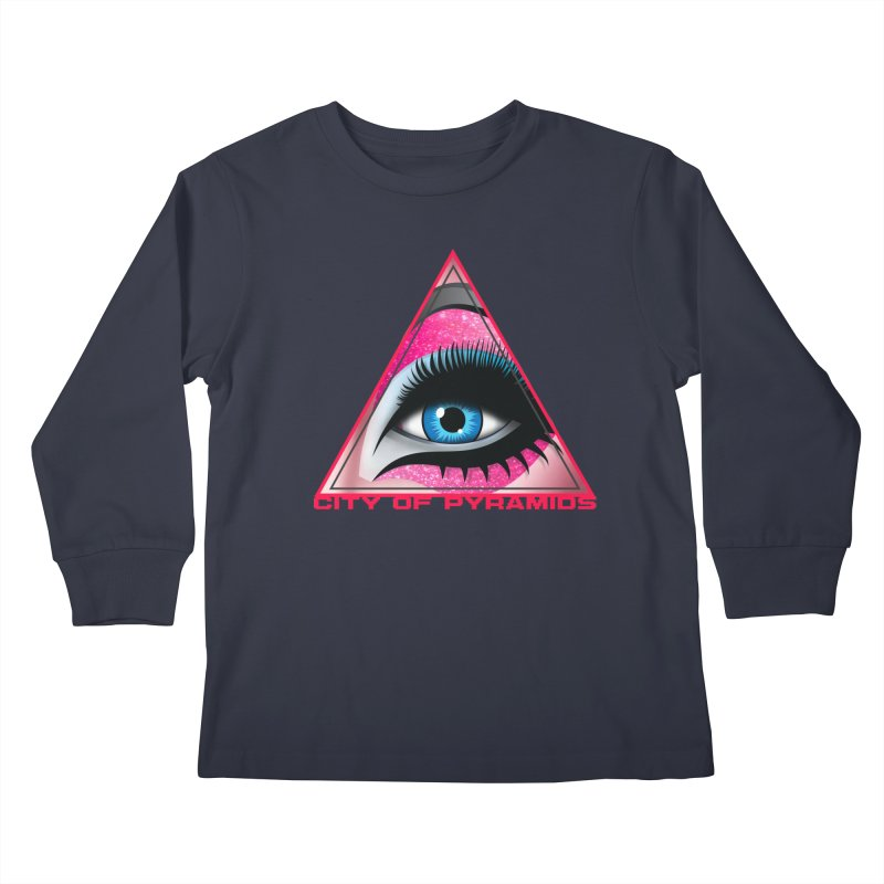 Eyeconic Drag Kids Longsleeve T-Shirt by City of Pyramids's Artist Shop