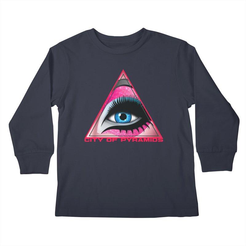 Eyeconic Drag Kids Longsleeve T-Shirt by City of Pyramids's Artist Shop