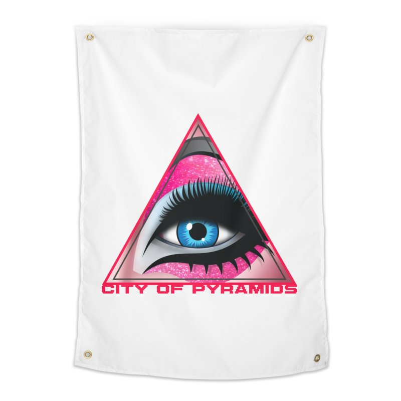 Eyeconic Drag Home Tapestry by City of Pyramids's Artist Shop