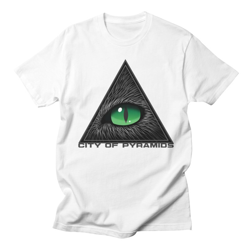 Eyecoic Cat Eye Women's Regular Unisex T-Shirt by City of Pyramids's Artist Shop
