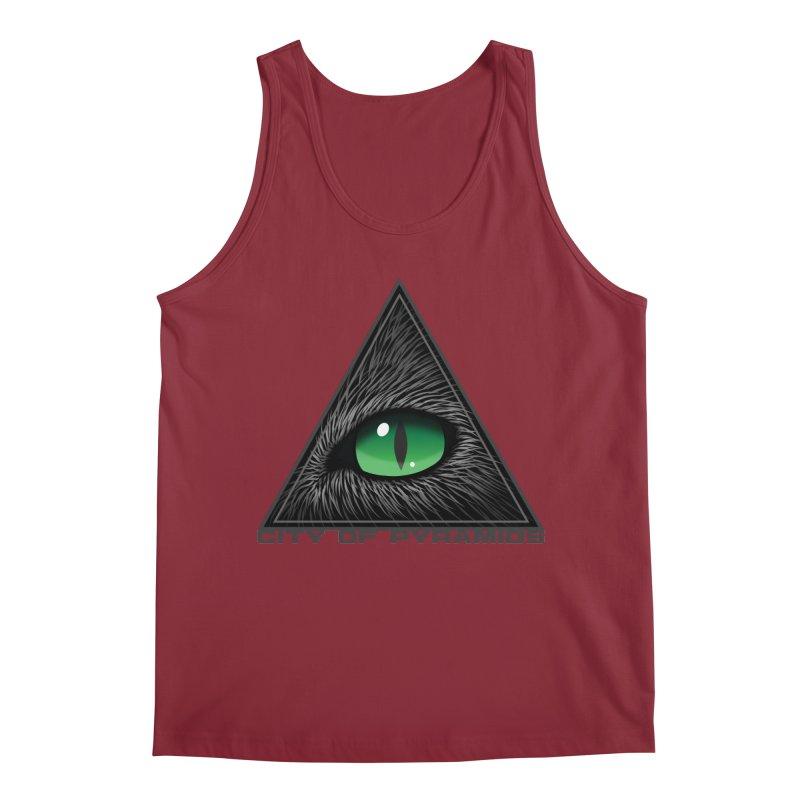 Eyecoic Cat Eye Men's Tank by City of Pyramids's Artist Shop