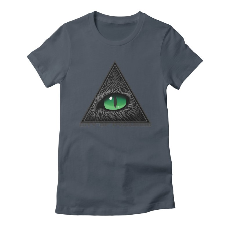 Eyecoic Cat Eye Women's T-Shirt by City of Pyramids's Artist Shop