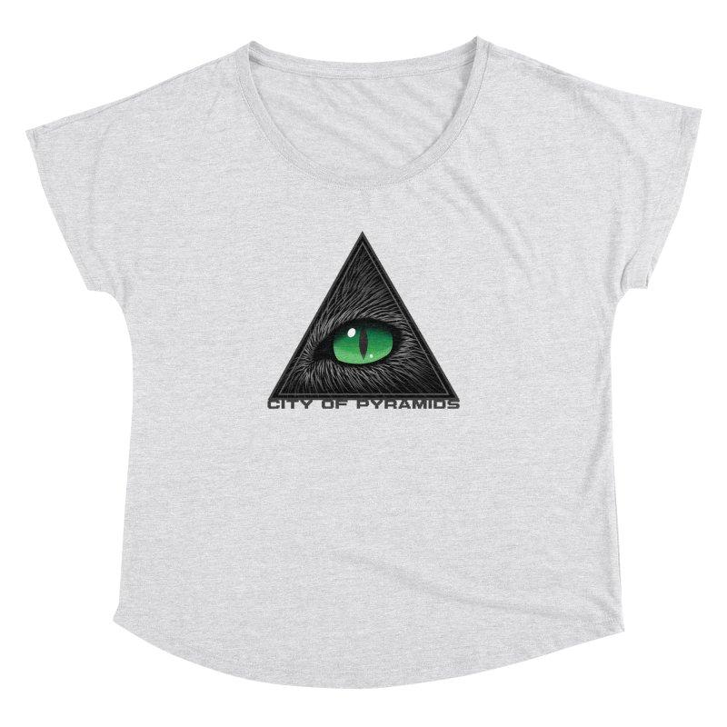 Eyecoic Cat Eye Women's Dolman Scoop Neck by City of Pyramids's Artist Shop