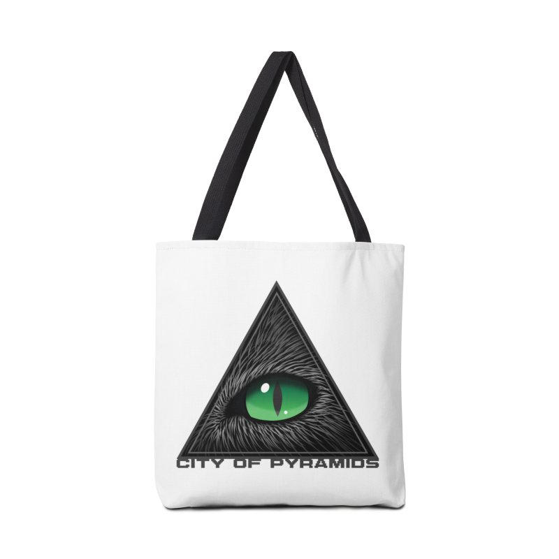 Eyecoic Cat Eye Accessories Tote Bag Bag by City of Pyramids's Artist Shop
