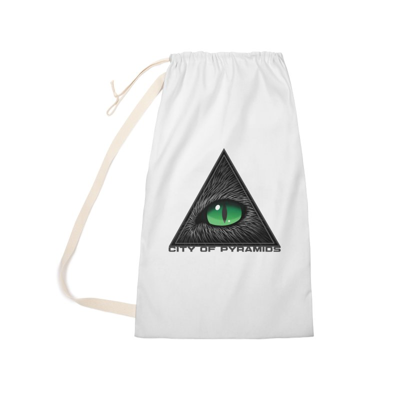 Eyecoic Cat Eye Accessories Bag by City of Pyramids's Artist Shop