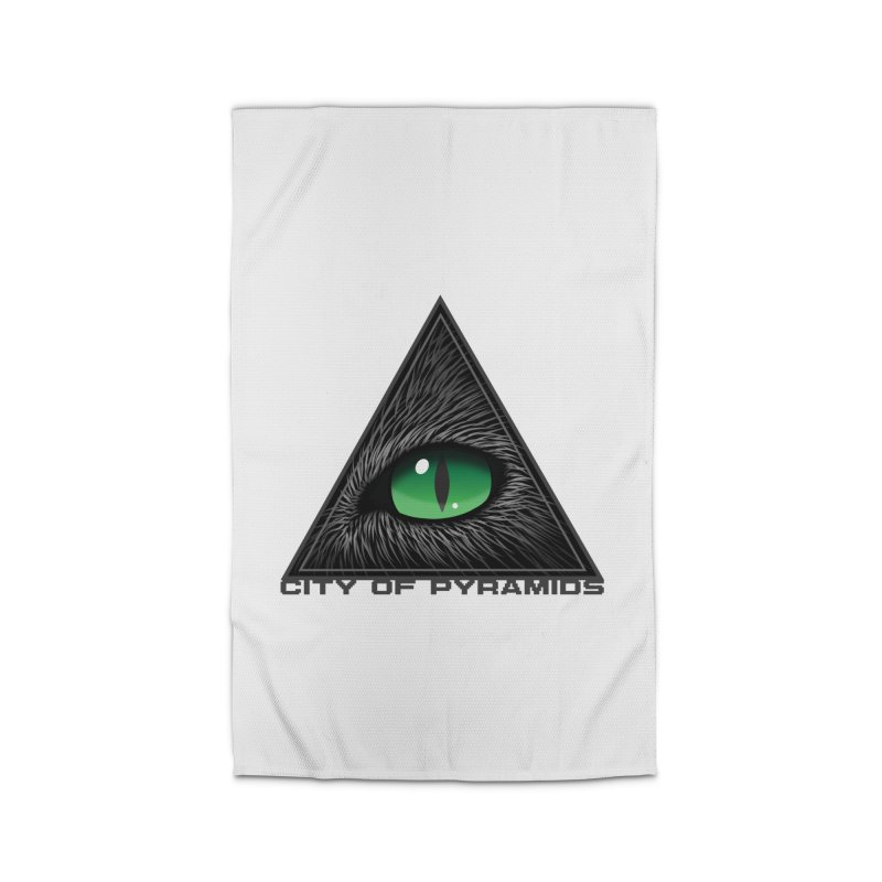 Eyecoic Cat Eye Home Rug by City of Pyramids's Artist Shop