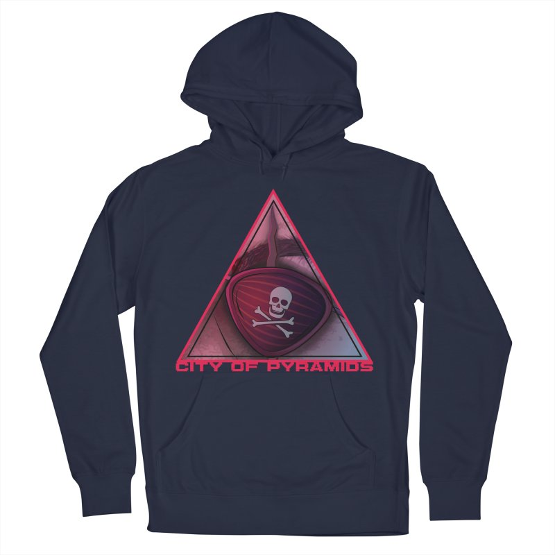 Eyeconic Eyepatch Men's Pullover Hoody by City of Pyramids's Artist Shop