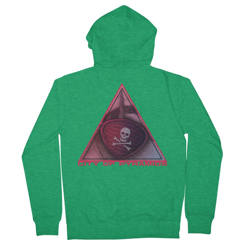 Eyeconic Eyepatch Men's Zip-Up Hoody by City of Pyramids's Artist Shop