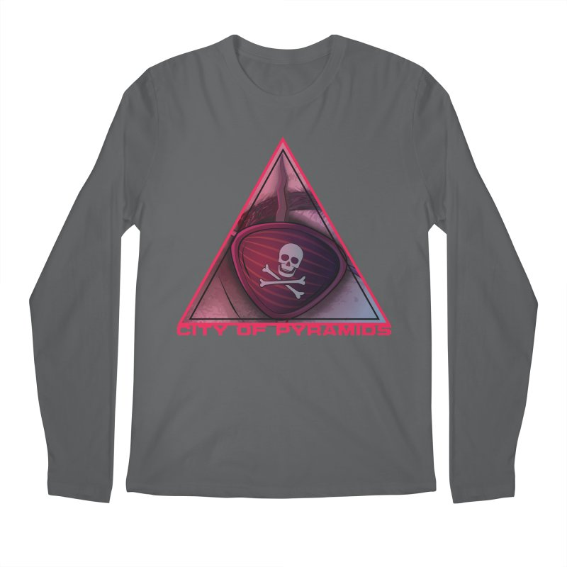 Eyeconic Eyepatch Men's Longsleeve T-Shirt by City of Pyramids's Artist Shop