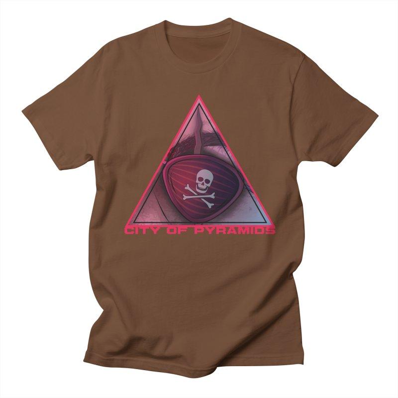 Eyeconic Eyepatch Men's T-Shirt by City of Pyramids's Artist Shop
