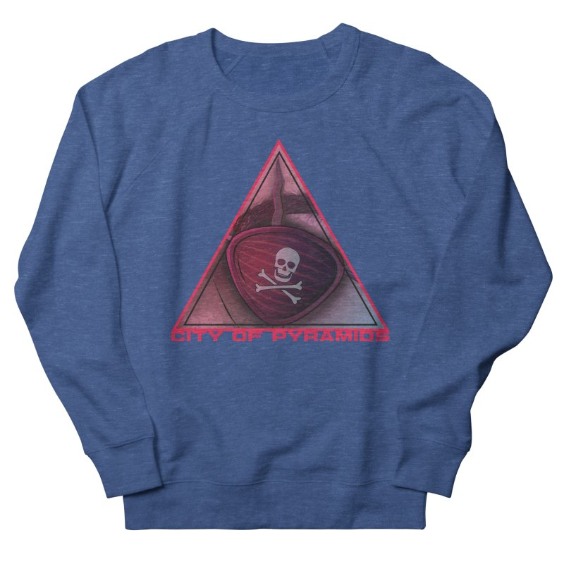 Eyeconic Eyepatch Men's Sweatshirt by City of Pyramids's Artist Shop