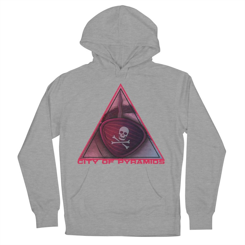 Eyeconic Eyepatch Men's French Terry Pullover Hoody by City of Pyramids's Artist Shop