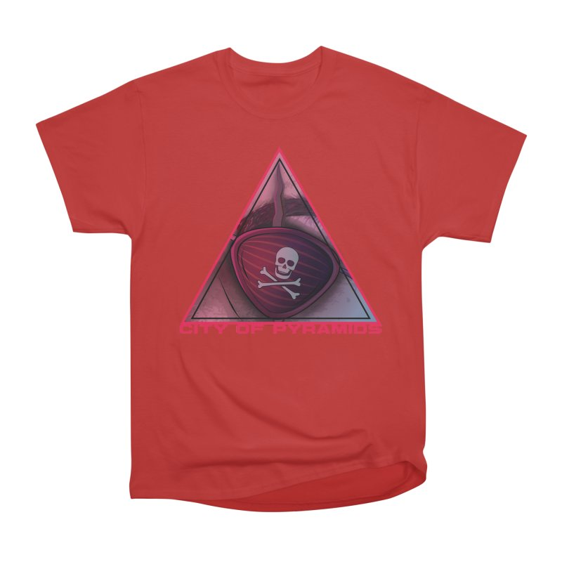 Eyeconic Eyepatch Men's Heavyweight T-Shirt by City of Pyramids's Artist Shop