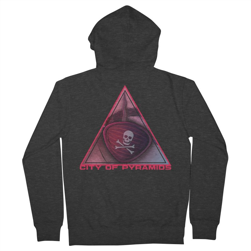 Eyeconic Eyepatch Women's French Terry Zip-Up Hoody by City of Pyramids's Artist Shop