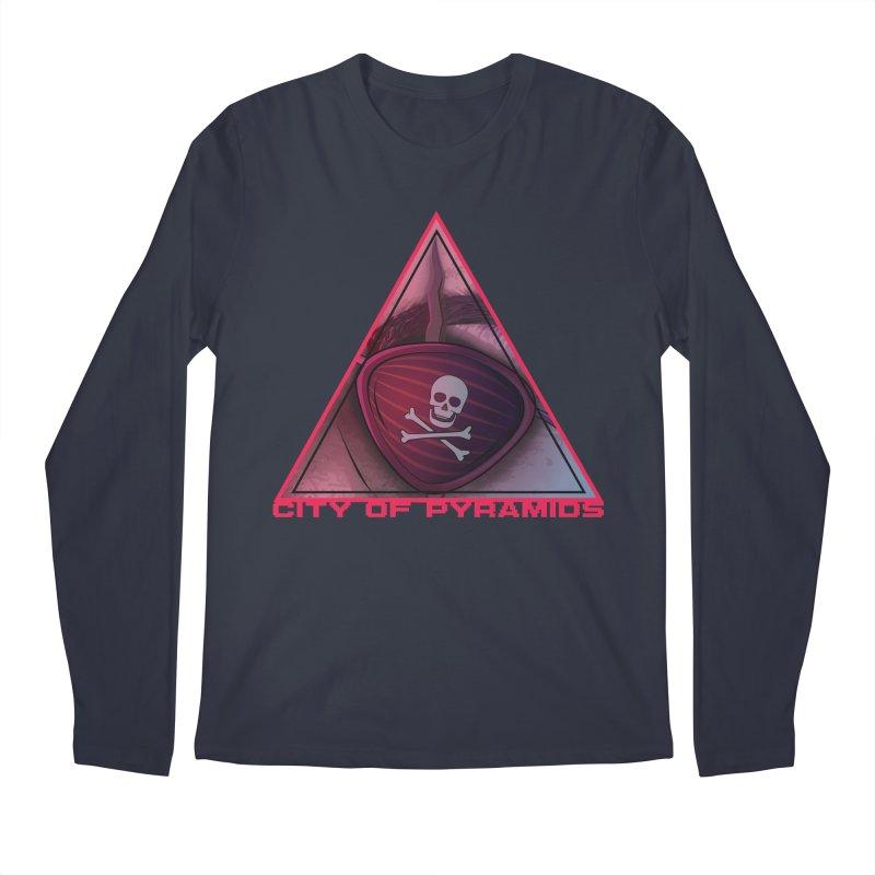 Eyeconic Eyepatch Men's Regular Longsleeve T-Shirt by City of Pyramids's Artist Shop