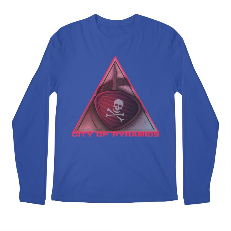 Eyeconic Eyepatch Men's Regular Longsleeve T-Shirt by City of Pyramids's Artist Shop