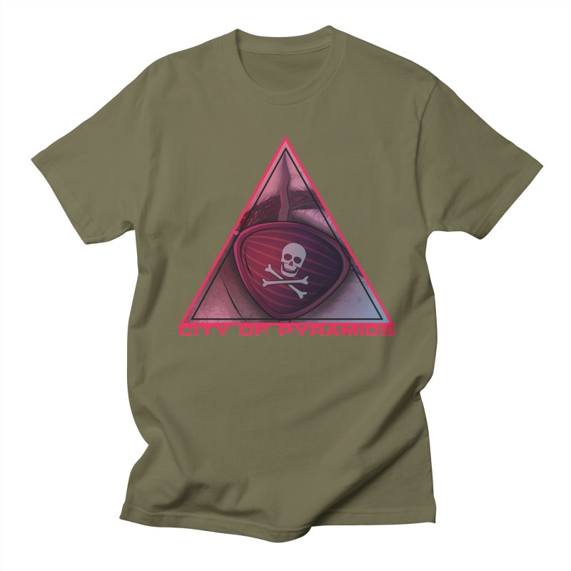 Eyeconic Eyepatch Men's T-Shirt by City of Pyramids's Artist Shop