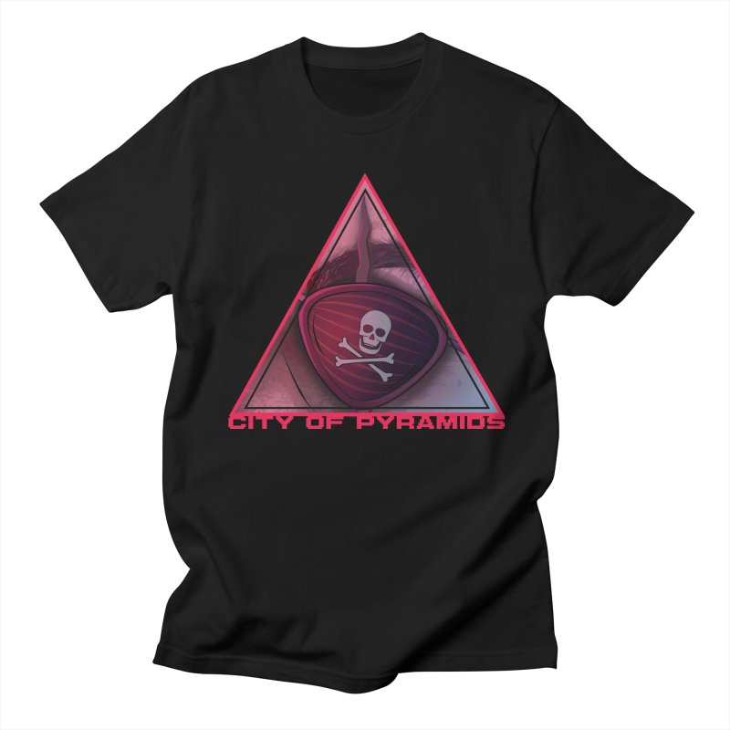 Eyeconic Eyepatch Women's Regular Unisex T-Shirt by City of Pyramids's Artist Shop