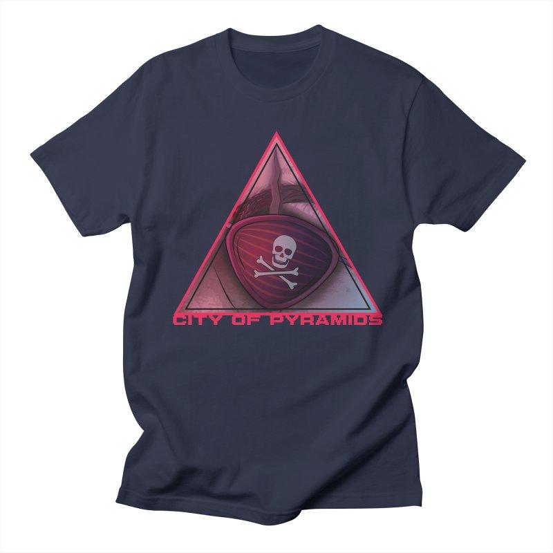 Eyeconic Eyepatch Men's Regular T-Shirt by City of Pyramids's Artist Shop