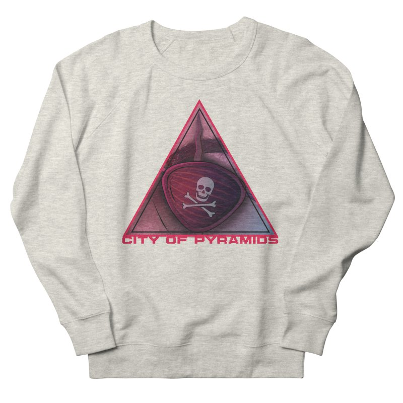 Eyeconic Eyepatch Women's French Terry Sweatshirt by City of Pyramids's Artist Shop