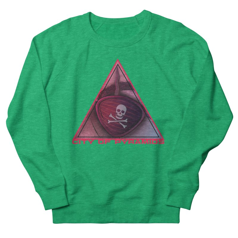 Eyeconic Eyepatch Men's French Terry Sweatshirt by City of Pyramids's Artist Shop