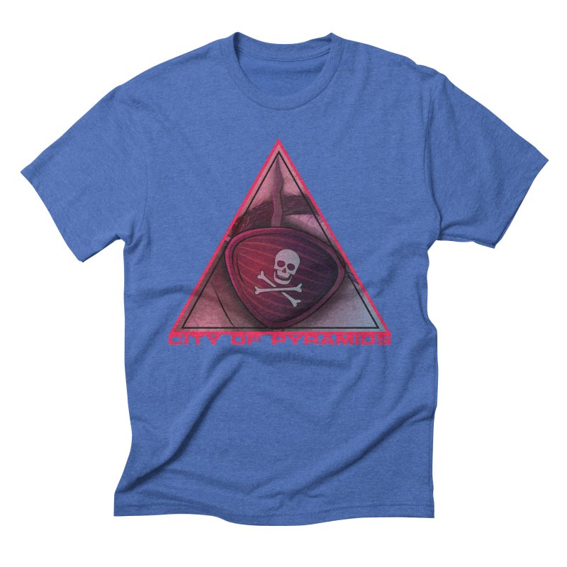 Eyeconic Eyepatch Men's Triblend T-Shirt by City of Pyramids's Artist Shop