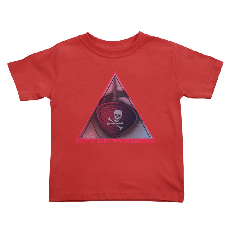 Eyeconic Eyepatch Kids Toddler T-Shirt by City of Pyramids's Artist Shop