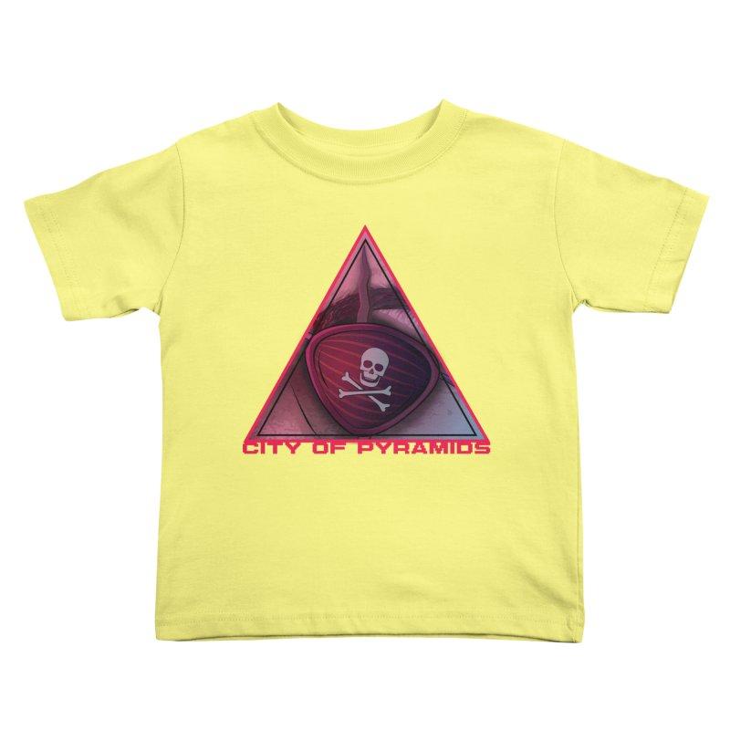 Eyeconic Eyepatch Kids Toddler T-Shirt by City of Pyramids's Artist Shop