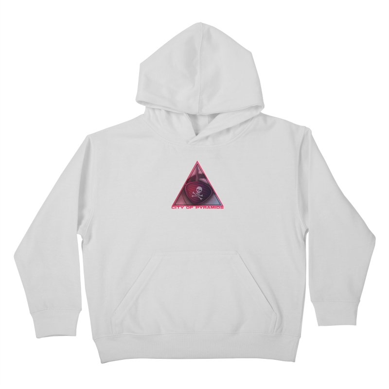 Eyeconic Eyepatch Kids Pullover Hoody by City of Pyramids's Artist Shop
