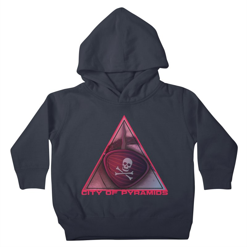Eyeconic Eyepatch Kids Toddler Pullover Hoody by City of Pyramids's Artist Shop