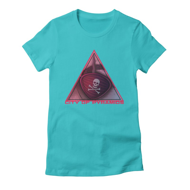 Eyeconic Eyepatch Women's Fitted T-Shirt by City of Pyramids's Artist Shop
