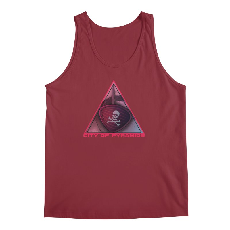 Eyeconic Eyepatch Men's Tank by City of Pyramids's Artist Shop