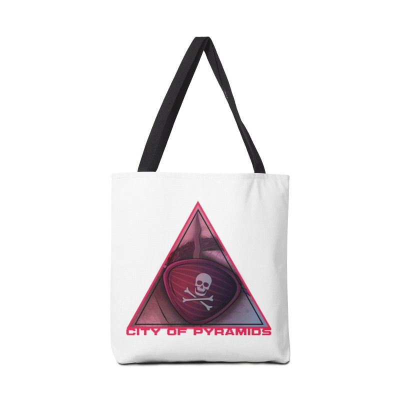 Eyeconic Eyepatch Accessories Tote Bag Bag by City of Pyramids's Artist Shop