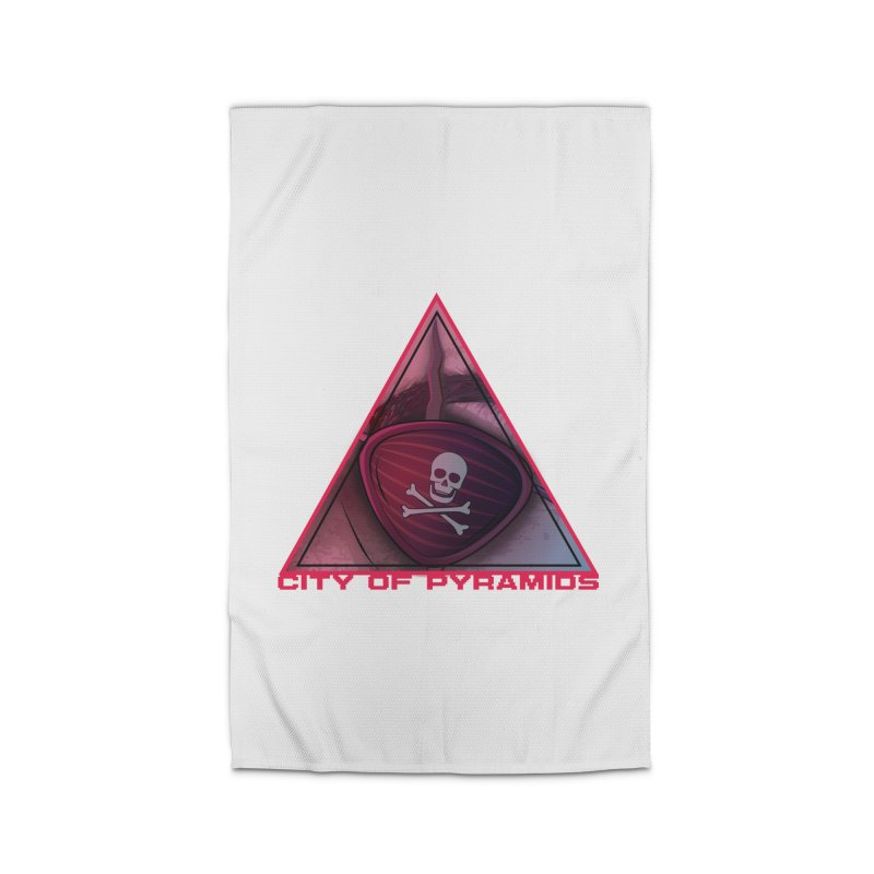 Eyeconic Eyepatch Home Rug by City of Pyramids's Artist Shop
