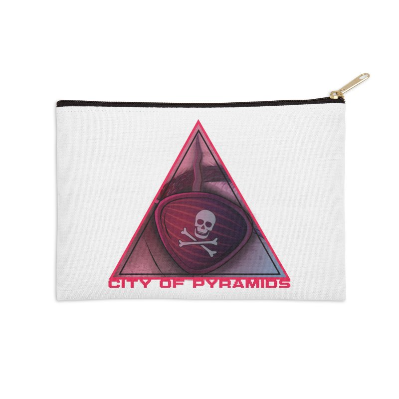 Eyeconic Eyepatch Accessories Zip Pouch by City of Pyramids's Artist Shop