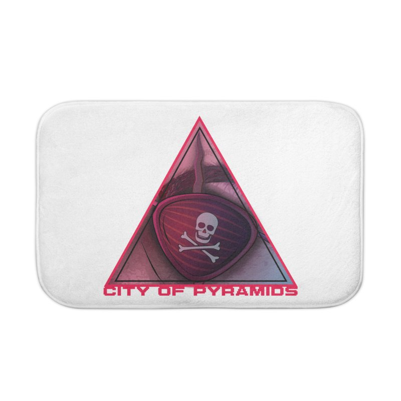 Eyeconic Eyepatch Home Bath Mat by City of Pyramids's Artist Shop