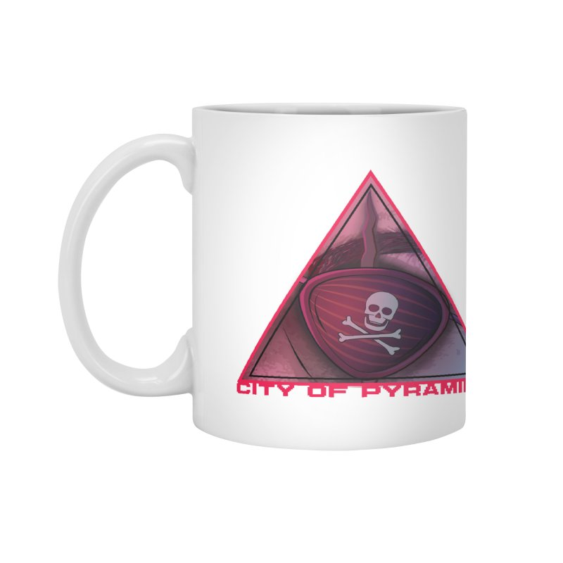 Eyeconic Eyepatch Accessories Mug by City of Pyramids's Artist Shop