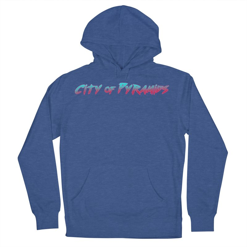 City of Pyramids Men's French Terry Pullover Hoody by City of Pyramids's Artist Shop
