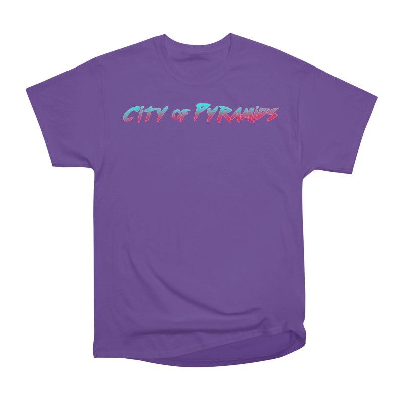 City of Pyramids Women's Heavyweight Unisex T-Shirt by City of Pyramids's Artist Shop
