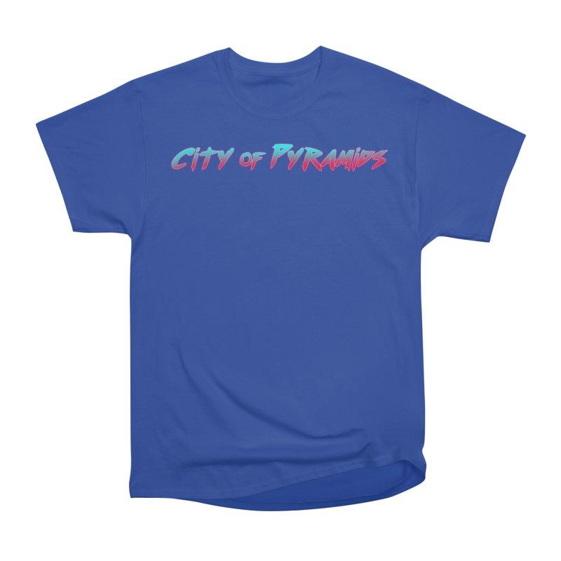 City of Pyramids Men's Heavyweight T-Shirt by City of Pyramids's Artist Shop