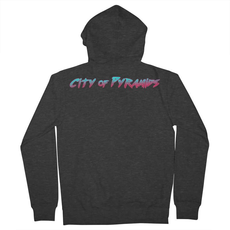 City of Pyramids Women's French Terry Zip-Up Hoody by City of Pyramids's Artist Shop