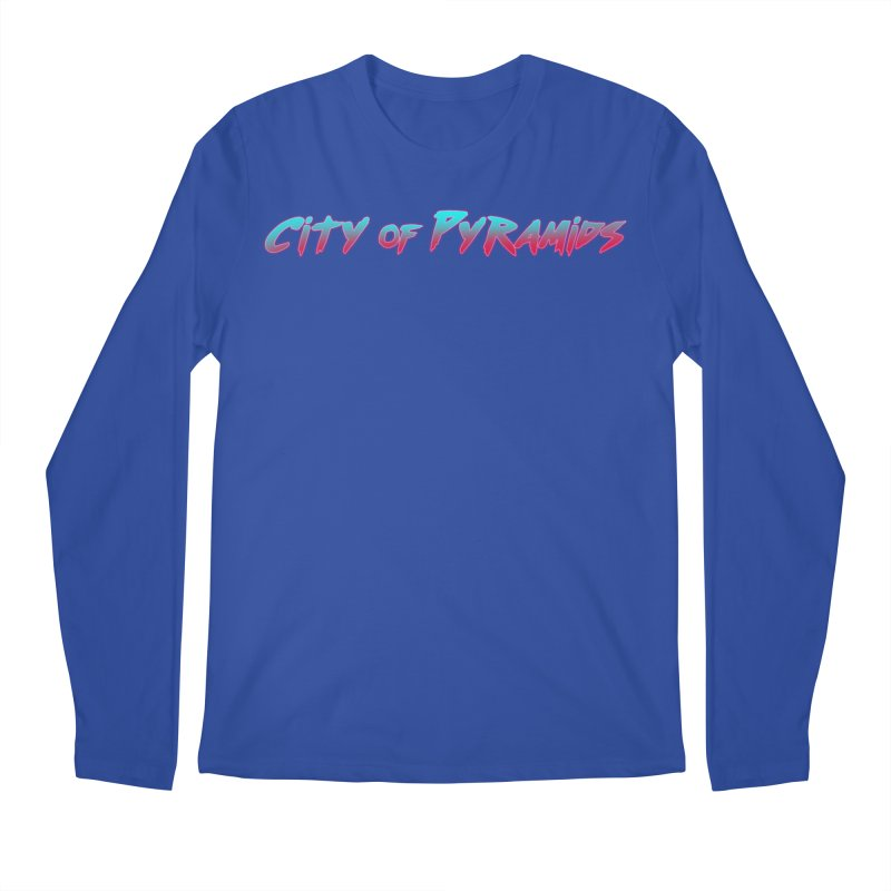 City of Pyramids Men's Regular Longsleeve T-Shirt by City of Pyramids's Artist Shop