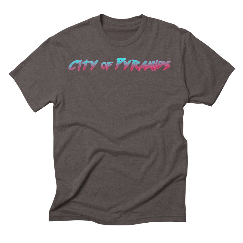 City of Pyramids Men's Triblend T-Shirt by City of Pyramids's Artist Shop