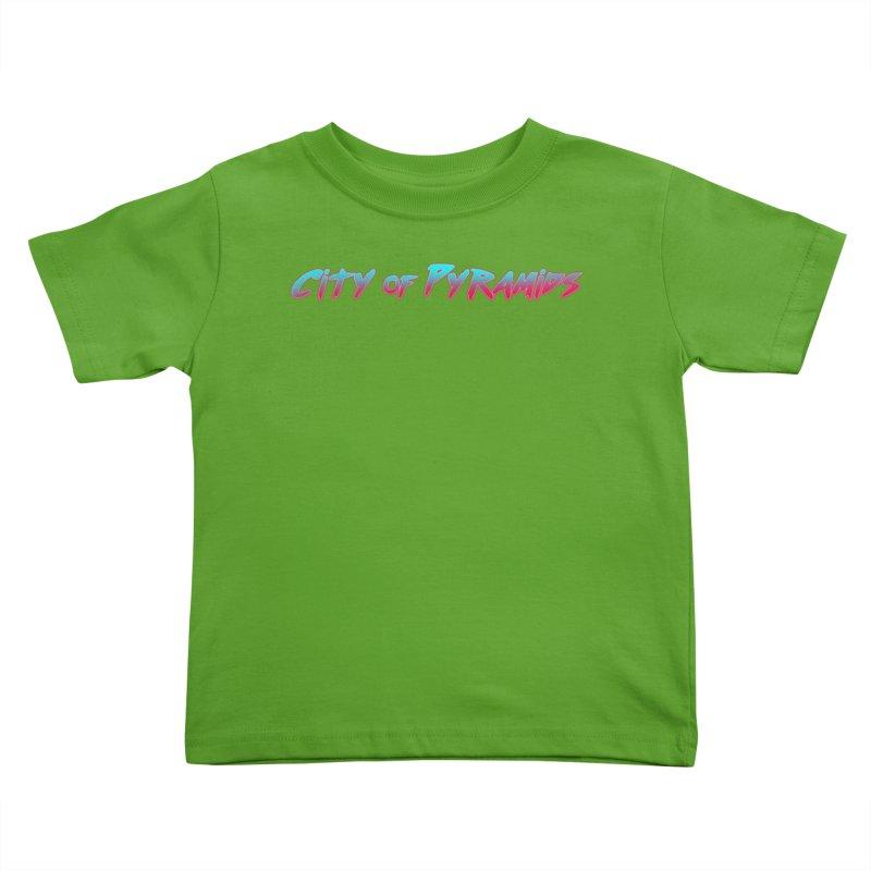 City of Pyramids Kids Toddler T-Shirt by City of Pyramids's Artist Shop