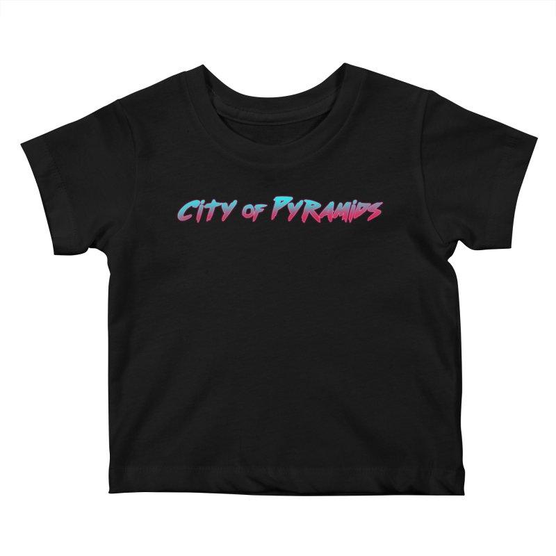 City of Pyramids Kids Baby T-Shirt by City of Pyramids's Artist Shop